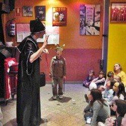 Animaciones fiestas infantiles Madrid domicilio con magos