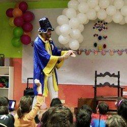 Animaciones infantiles Madrid domicilio magos