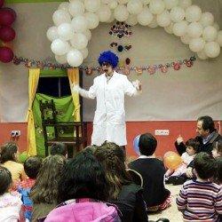 Animaciones fiestas cientificas infantiles en Madrid