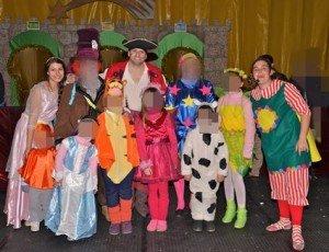 Animadores para fiestas Infantiles en Madrid domicilio