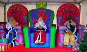 Los Reyes Magos a domicilio en Madrid