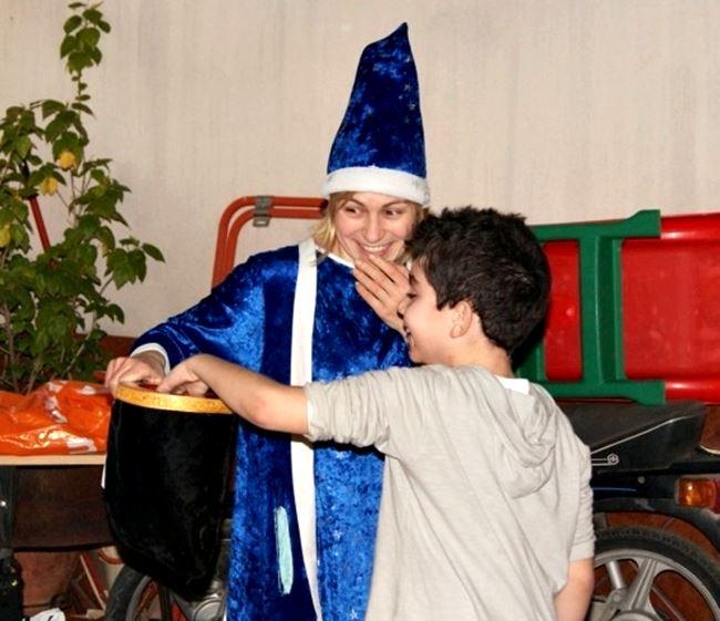 Magos en Navidad para niños