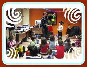 Como hacer taller de magia infantil madrid