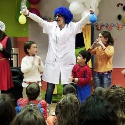 Experimentos científicos para niños en Madrid