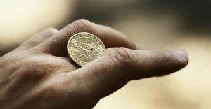 El truco de la moneda