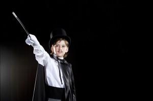 niños y magia