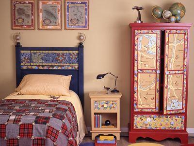 Dormitorios tem ticos para ni os for Dormitorios tematicos