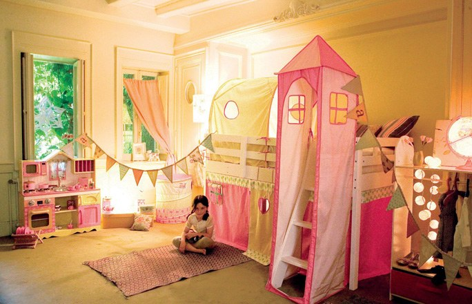 Magos en madrid para cumplea os fiestas infantiles - Decoracion de habitaciones infantiles nina ...