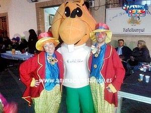 Payasos para comuniones en Madrid