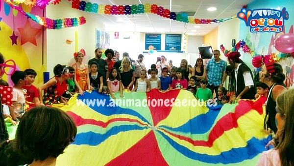 animadores para fiestas de cumpleaños infantiles en madrid