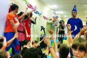Fiestas infantiles tematicas en Madrid