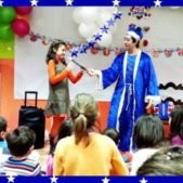 best circus themed party entertainment at home magician