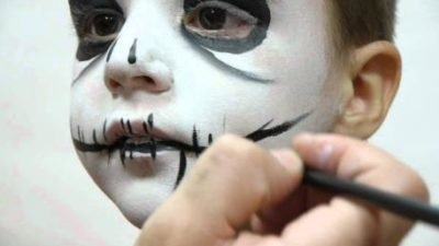 Maquillajes infantiles de miedo para Halloween