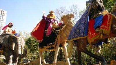 Cabalgata de Reyes en Madrid 2017