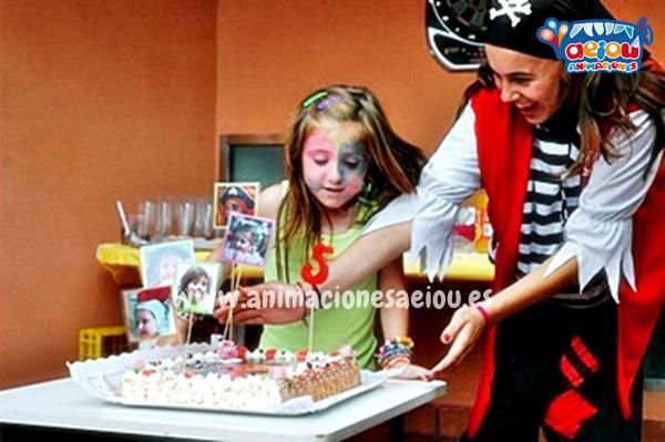 Decoraciones para fiestas temáticas de piratas en Madrid