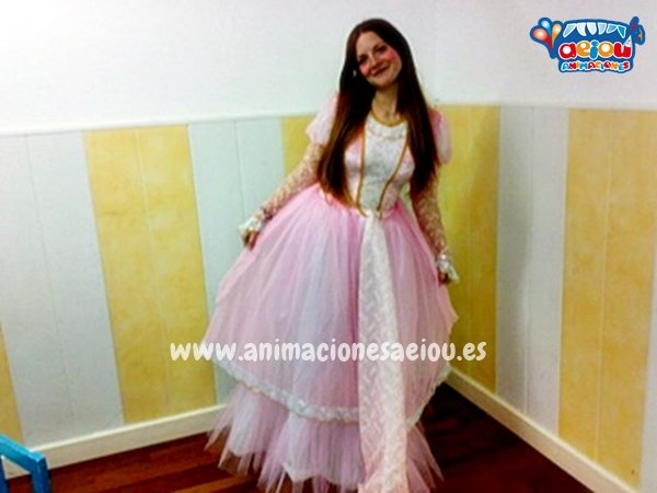 Animadores para fiestas temáticas de princesas en Madrid