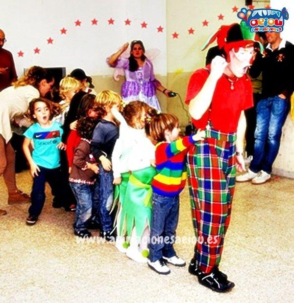 Payasos para fiestas infantiles en Fuenlabrada