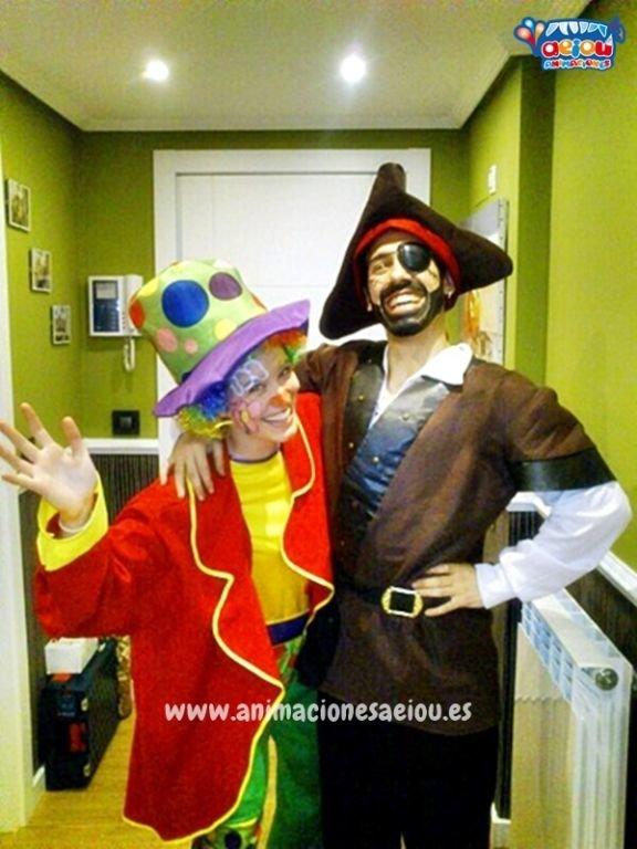 Animadores, magos y payasos en Las Rozas