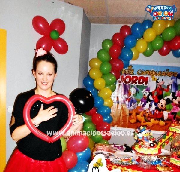 Animadores para fiestas infantiles en Fuente el Saz de Jarama