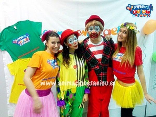Animadores para fiestas infantiles en Humanes de Madrid