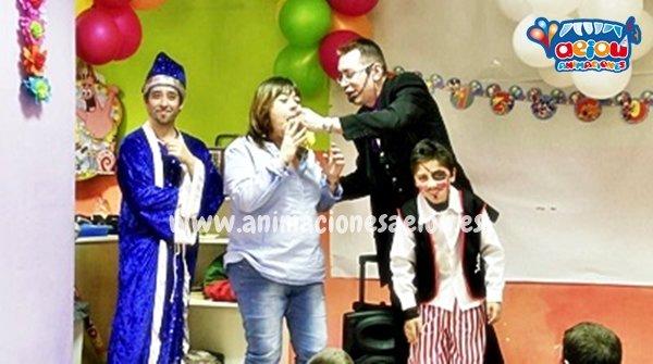 Magos para fiestas infantiles en Humanes de Madrid