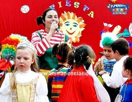 Animaciones para fiestas de cumpleaños infantiles y comuniones en Collado Villalba
