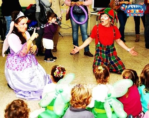 animaciones para fiestas de cumpleaños infantiles y comuniones en Alalpardo