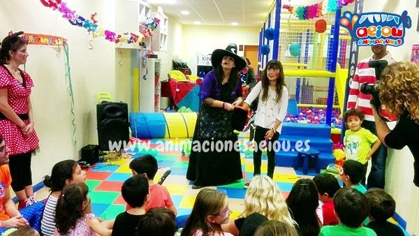 animaciones para fiestas de cumpleaños infantiles y comuniones en Camarma de Esteruelas