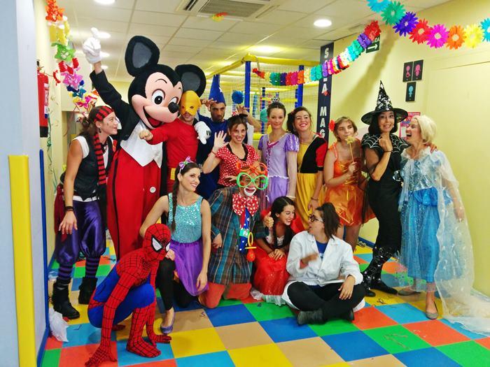 Animaciones para fiestas de cumpleaños infantiles y comuniones enGalapagar