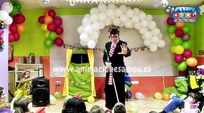 animaciones para fiestas de cumpleaños infantiles y comuniones en Moralzarzal