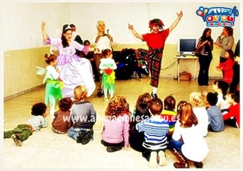 animaciones para fiestas de cumpleaños infantiles y comuniones enMorata de Tajuña