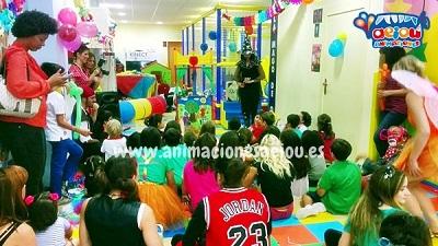 animaciones para fiestas de cumpleaños infantiles y comuniones en Navacerrada