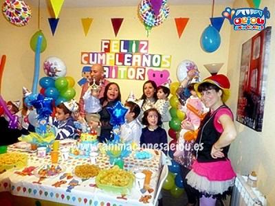 Animaciones para fiestas de cumpleaños infantiles y comuniones en Talavera de la Reina