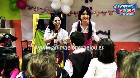 animaciones para fiestas de cumpleaños infantiles y comuniones en Toledo-payasa