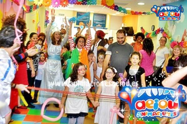 animaciones para fiestas de cumpleaños infantiles y comuniones en Yuncos